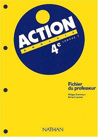 Action, 4e, LV1. LIvre du professeur