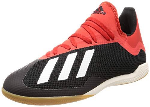 adidas Herren X 18.3 In Fußballschuhe, Mehrfarbig (Negbás/Casbla/Rojact 000), 39 1/3 EU