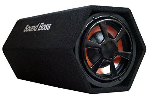 soundboss sbbt-8x20h 8-inch 400 watt powered subwoofer hexagon basstube with in-built amplifier … SoundBoss SBBT-8X20H 8-Inch 400 Watt Powered Subwoofer Hexagon BassTube with In-Built Amplifier … 411V2bVq7CL