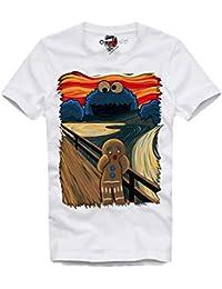 8664113595 E1Syndicate T Shirt Cookie Monster KRÜMELMOSTER The Scream SCHREI ELMO