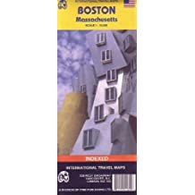 Boston World City Map (Travel Reference Map)