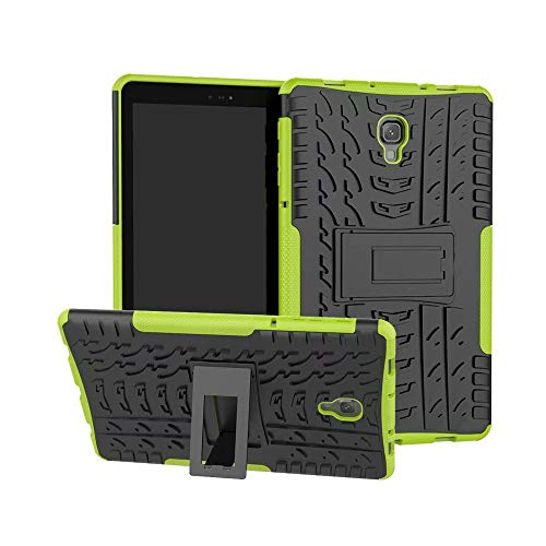 XIANGBAO-Klassischer Fall Dual Layer Hybrid Armor Kickstand 2 in 1 stoßfester Hülle für Samsung Galaxy Tab A 10,5 Zoll (SM-T590 / T595) 2018 Tablet (Farbe : Grün) Layer-hybrid Fall