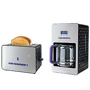 Coffret Cafetiere programmable + grille-pain
