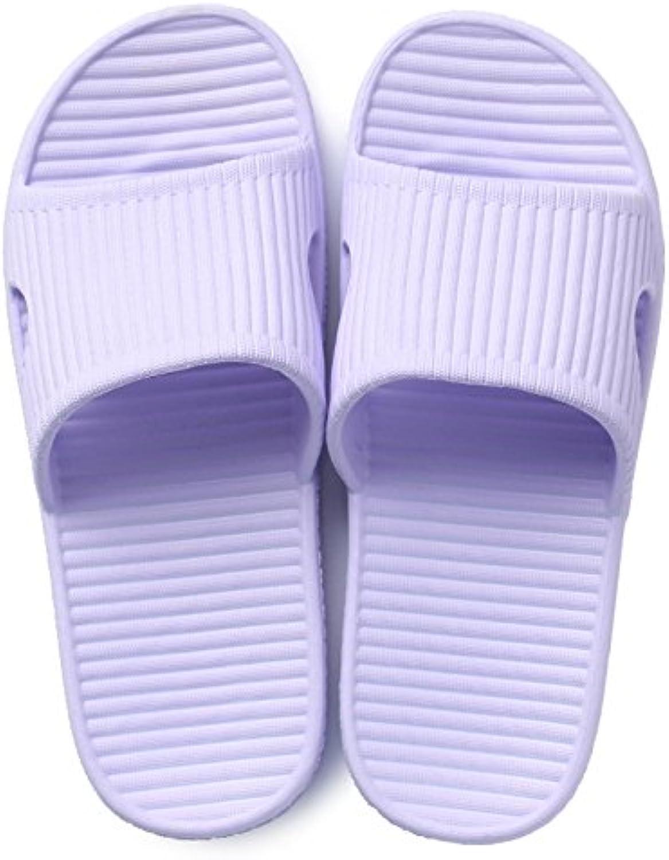 DogHaccd Zapatillas,Zapatillas de casa hogar hembra con el verano En verano los amantes de la gruesa toalla de...