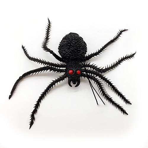 Naisicatar 1 Pc Black Spider Halloween Dekoration Requisiten -
