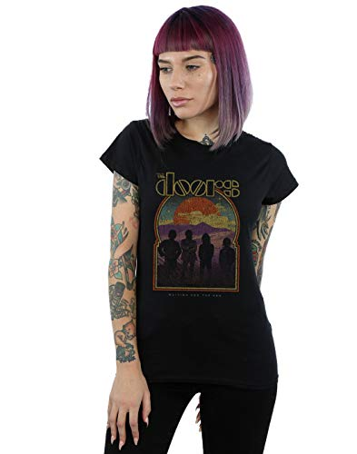 The Doors Damen Eclipse Silhouettes T-Shirt Schwarz Medium