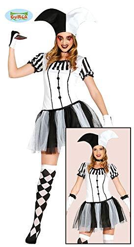 Costume sexy joker jolly giullare arlecchino donna tg.s