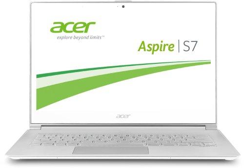 Acer Aspire S7-392-74508G25tws 33,8 cm (13,3 Zoll) Ultrabook (Intel Core i7 4500U, bis zu 1,8GHz, 8GB RAM, 256GB SSD, Intel HD 4400, Touchscreen, WQHD Auflösung, Win 8) weiß