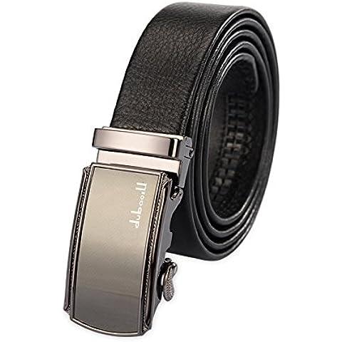 De los hombres de cuero cinturones business casual/ cinturón de hebilla automático Joker