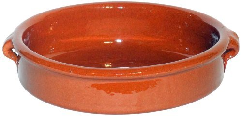 Amazing Cookware Natural Terracotta 17cm Round Dish