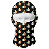 Balaclava Full Face Mask Italian Flag Thumbs Up Windproof UV Protection Neck Hood Ski Mask for Motorcycle Cycling Outdoor Sports