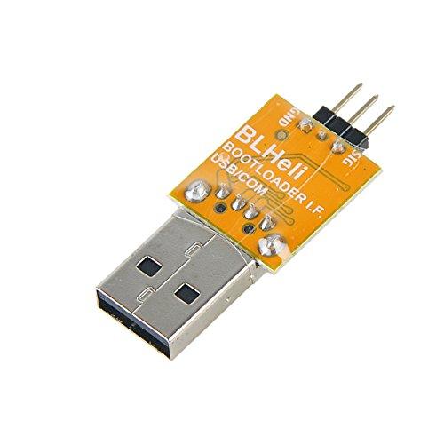 DroneAcc Upgrade ESC PC Software Kommunikationsadapter USB Linker für BLHelis Firmware und Unterstützung BLHeli Firmware