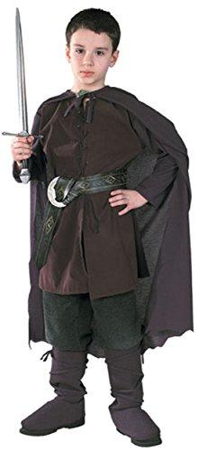 Original Herr der Ringe Aragorn Kostüm 5-7 J. 116/122