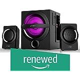 (Renewed) F&D A140X 2.1 Channel Multimedia Bluetooth Speakers (Black)