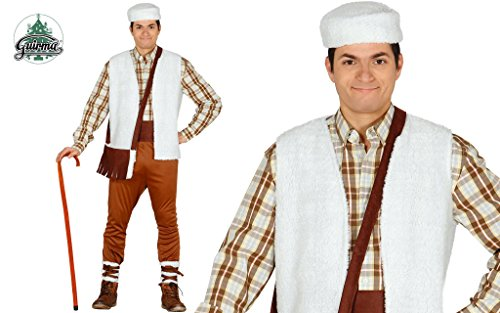 Guirca Costume vestito pastore presepe Natale carnevale uomo 42350
