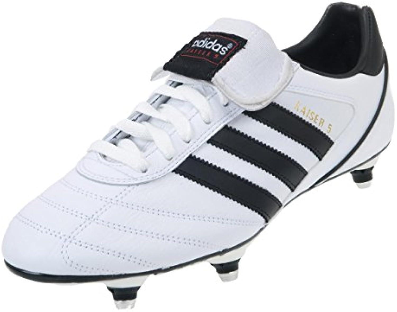 adidas kaiser  5 tasse  kaiser , - mehrfarbig (ftwr base noir / core blanc / noir - 44 Blanc  taille: 7 168f00