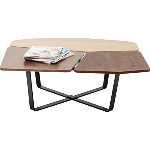 Kare Design Table Basse Patches Bois