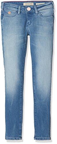 Scotch & Soda R´Belle Mädchen Jeans Le Voyage - Classic Blue Blau 543, 116 (Herstellergröße: 6) Bella Cotton Jeans