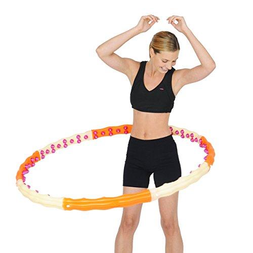 JEMIMAH HEALTH HOOP II - Hula Hoop // 96 Magneten, 1,7kg**
