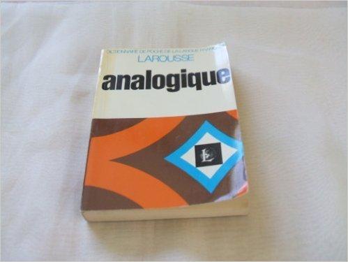 Dictionnaire analogique ( 1971 ) par Unknown