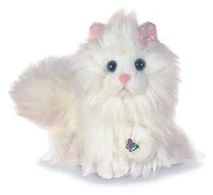 Webkinz 32208101 - Gato Persa de Peluche, Color Blanco