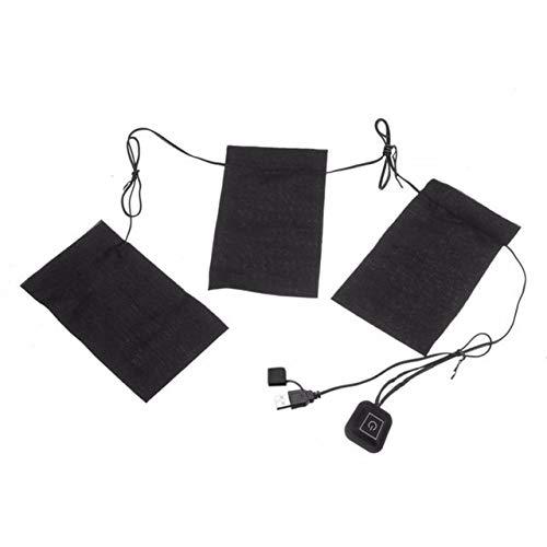 HATCHMATIC 1 Satz USB-elektrische erhitzt et Heizkissen Außen Themal warme Winter Heizung Vest-Pads für DIY Beheizte Kleidung: 3-in-1, China