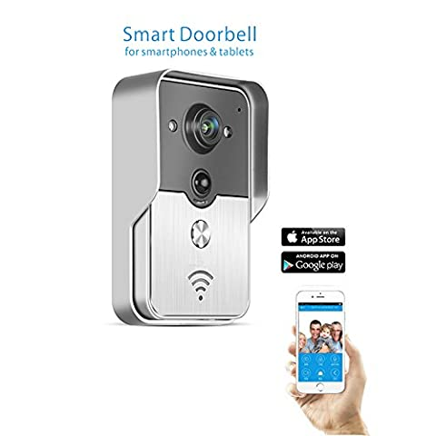 Smartfuture Smart WIFI sans fil de sonnette interphone vidéo Judas Caméra PIR IR Vision Nocturne Alarme Smart Home Système de sécurité Android IOS