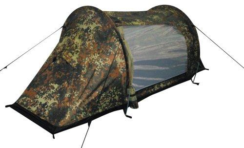 Tent-Arber-Aluminium-Frame-1-Person-Camping-Festivals-Outdoor-Flecktarn-Camo