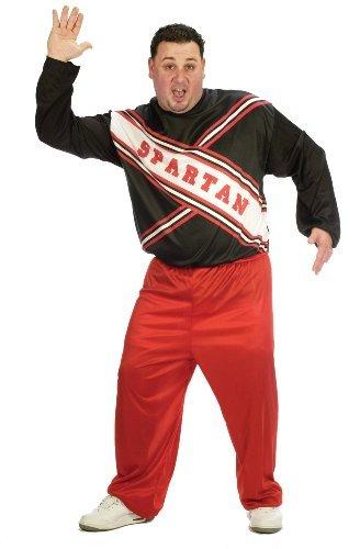 Plus Size Spartan Cheerleader Fancy dress costume - Saturday Night Live Kostüm