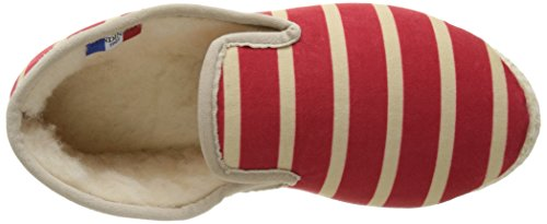 Rondinaud Canohes, Chaussons Bas Mixte Adulte Rouge (20 Rouge)