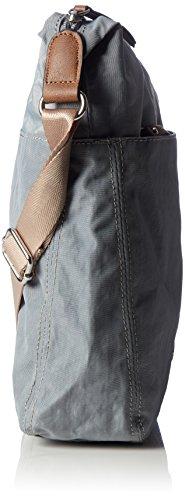 GERRY WEBER Damen Sunshine Shoulderbag Lvz Schultertasche, 7,5 x 32 x 28 cm Blau (Light Blue)