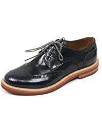 B8931 scarpa classica uomo DOLCE&GABBANA D&G DERBY scarpa blu navy shoe man [44]