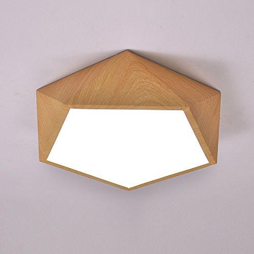 LINA-soffitto lampada stelle legno camera da letto