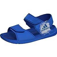 adidas AltaSwim, Unisex Kids' Fashion Sandals, Blue (Blue/Ftwr White/Ftwr White), 2 UK (34 EU)