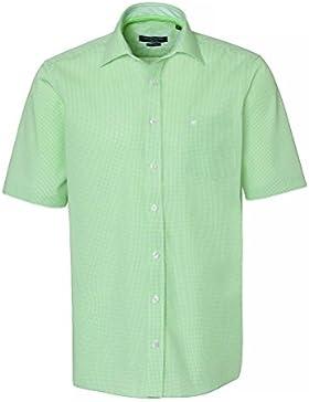 CASAMODA Herren Businesshemd 100% Baumwolle Regular Fit