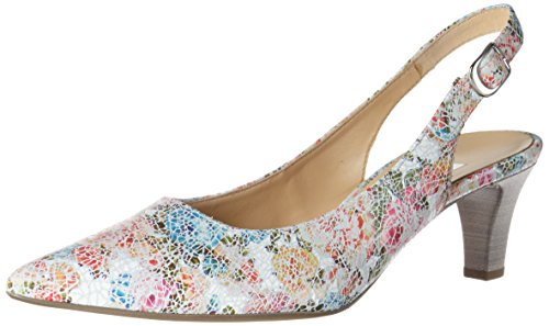 Gabor Ladies Fashion Pumps White (bianco 41)