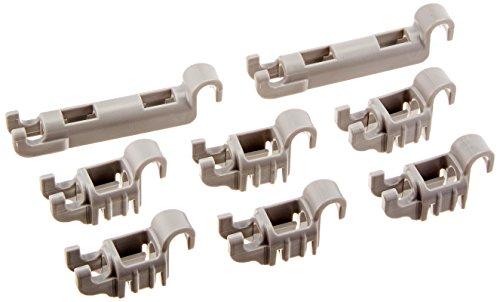 Bosch-Plastica Clip Set per inferiore stoviglie cestino per Bosch