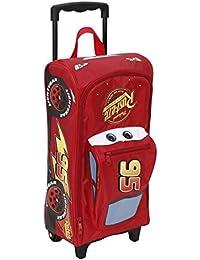 Familando Disney Cars Grande valise à roulettes en forme de voiture