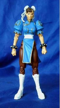 figurine street fighter sous blister chun li