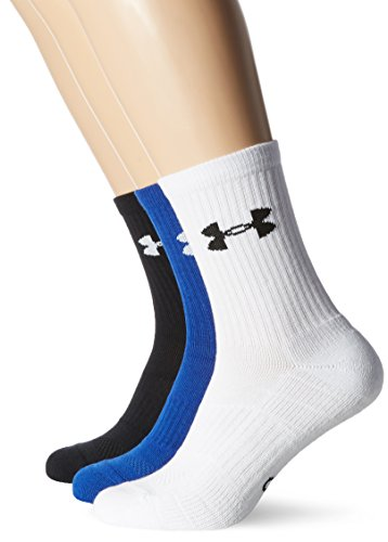 Under Armour UA Elevated Performance Crew Calcetines, Hombre, Azul Cobalto, L