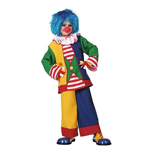 Kostümplanet Clown-Kostüm Kinder Jungen und Mädchen Clownskostüm 3-tlg. Größe ()