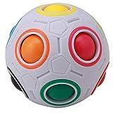 Funnyrunstore Rainbow Magic Ball Plastic Cube Twist Puzzle para...