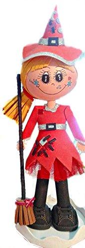 Muñeca Personalizada Fofucha Bruja Fusia