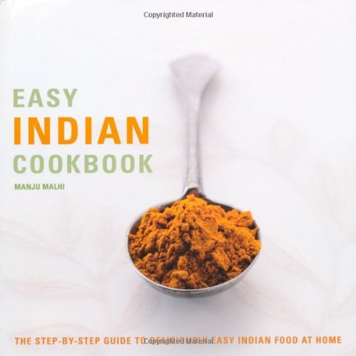 Easy Indian Cookbook (Easy Cookbooks) by Manju Malhi (1-May-2010) Paperback