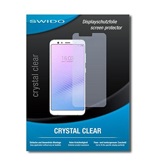 SWIDO Bildschirmschutz für Hisense Infinity H11 Pro [4 Stück] Kristall-Klar, Hoher Härtegrad, Schutz vor Öl, Staub & Kratzer/Schutzfolie, Bildschirmschutzfolie, Panzerglas Folie