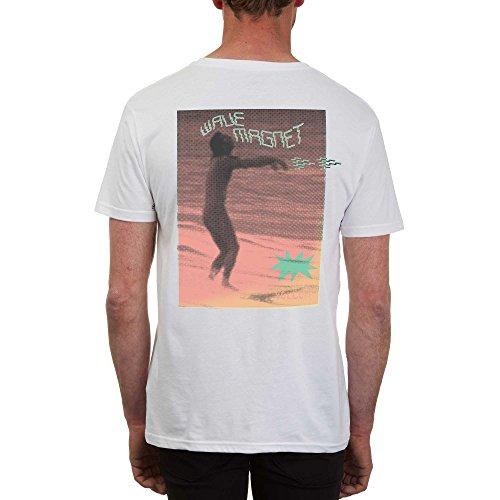 Herren T-Shirt Volcom Zombieozzy BSC T-Shirt White (wht)