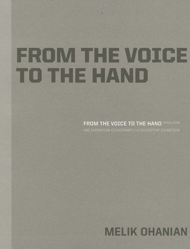 From the voice to the hand Paris 2008: U...
