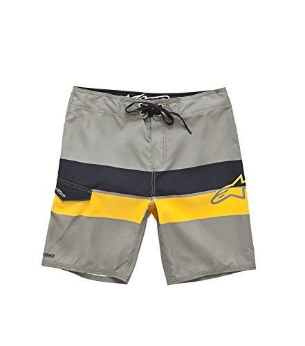 Alpinestars Factory Boardshort - Short - à rayures - Homme Beige (Fatigue)