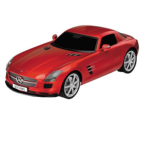 Adraxx 1:24 Scale Red Mercedes-Benz Racing Car