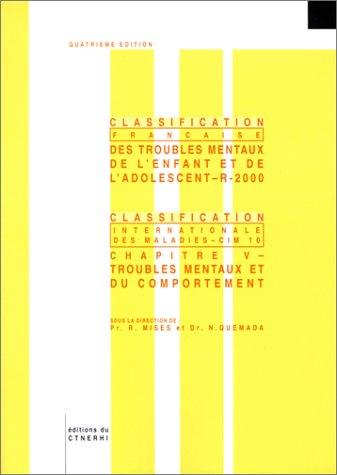 Classification française des troubles mentaux de l'enfant et de l'adolescent